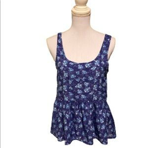 AMERICAN EAGLE floral tank top size S/P